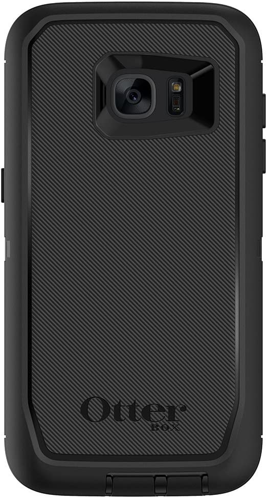 Amazon Com Otterbox Defender Series Case For Samsung Galaxy S7 Edge Retail Packaging Black
