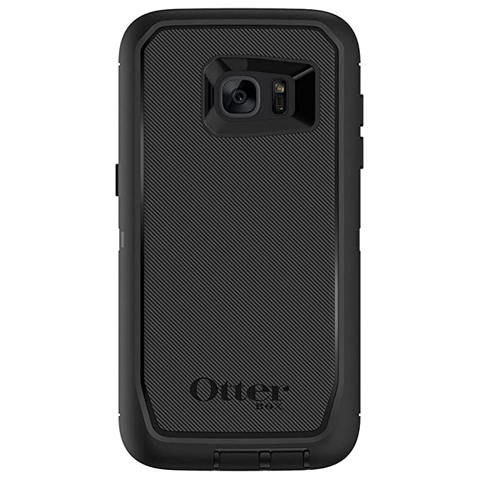 promo code ab80a cf5b4 OtterBox Defender Series Case for Samsung Galaxy S7 Edge - Retail Packaging  - Black