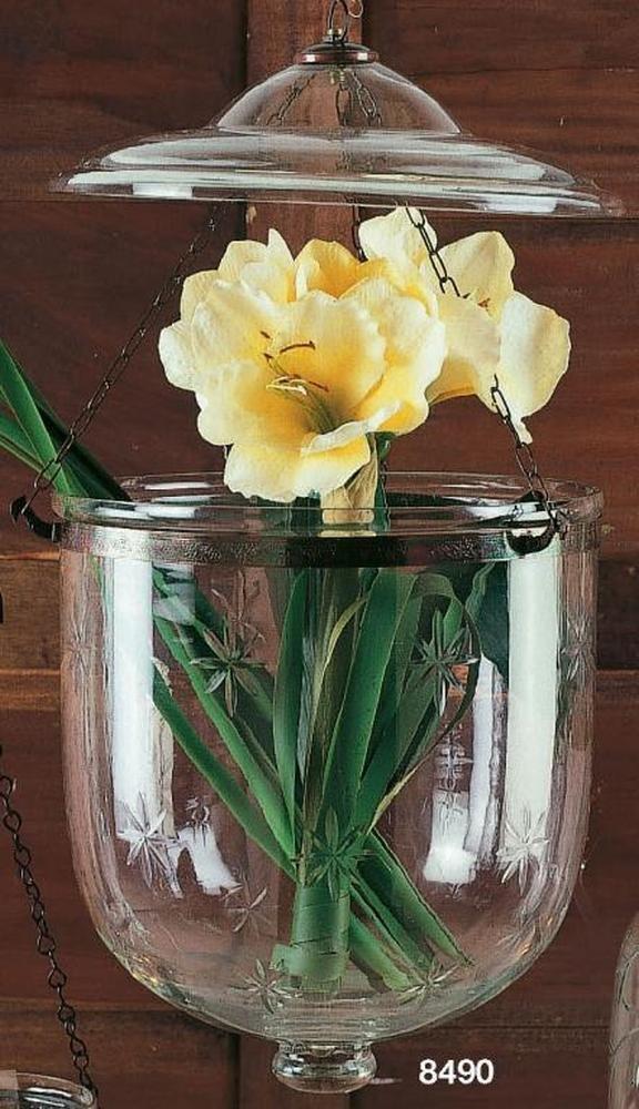 HÄNGEAMPHORE VIENNA, Glas, Ø28 x 51 cm