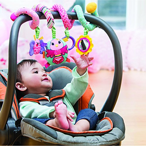 infantino spiral activity toy pink buy online in uae baby product products in the uae. Black Bedroom Furniture Sets. Home Design Ideas