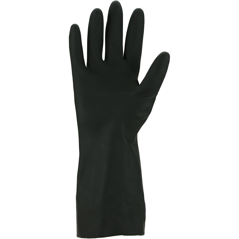 6 ASATEX Chemikalienschutz-Handschuh 12 Paar gr/ün Nitril 3450-ECO Gr