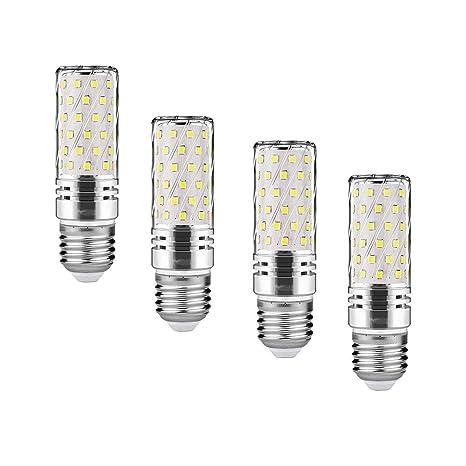 Bombillas LED E27 LED Maíz 15W 6000K Blanco Frío LED Candelabros bombillas Equivalente Incandescente Bombilla 120W