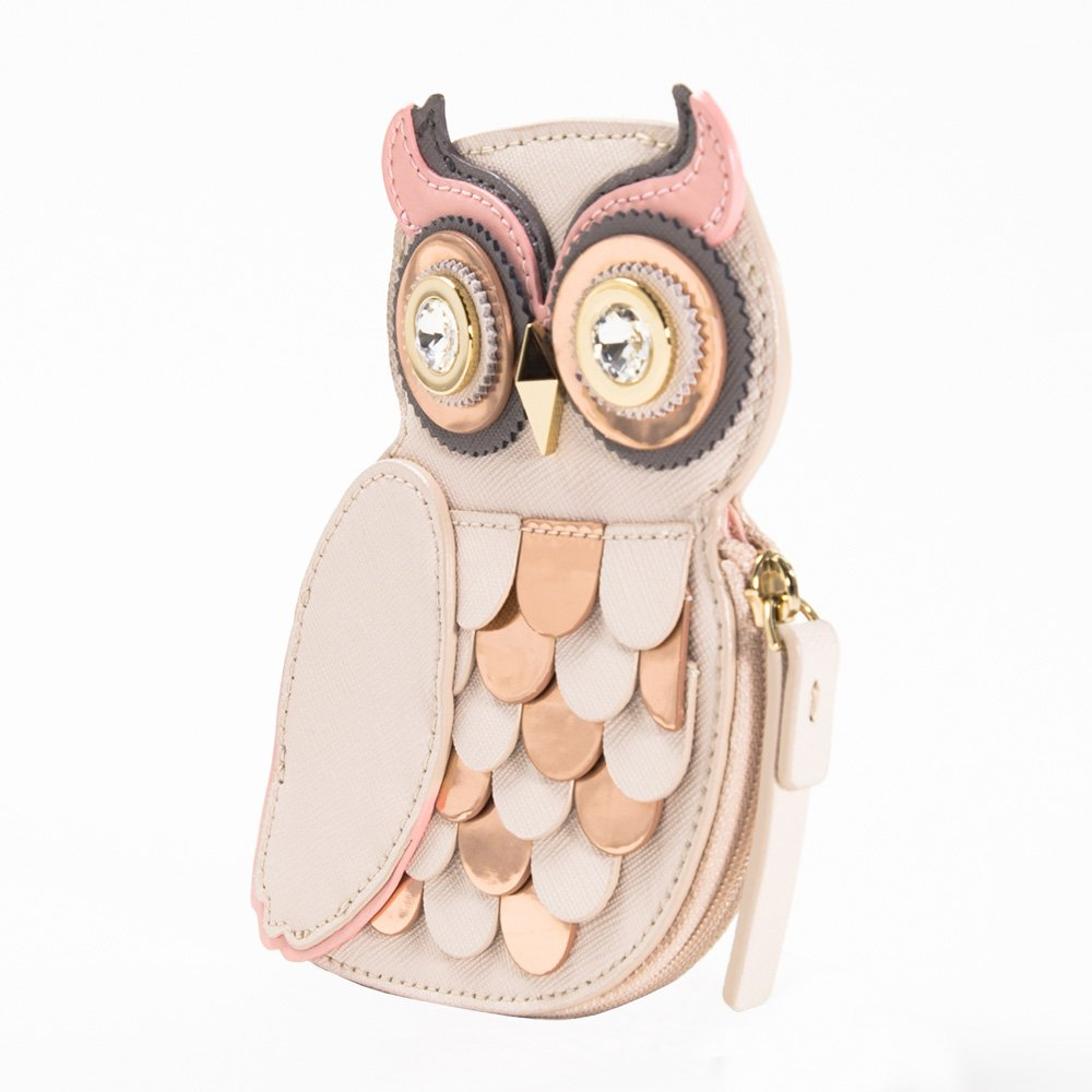 ケイトスペードKATE SPADEコインケースwlru2572 owl coin purse blaze atrail [並行輸入品]   B01LYPGFTQ