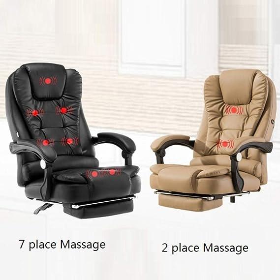 Amazon.com: MC.PIG Massage Office Fauteuil Sedia Ufficio ...