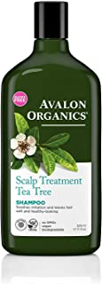 product image for Avalon Organics Shampoo, Scalp Treatment Tea Tree, 11 Oz