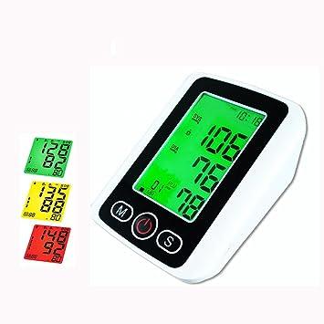 Tensiómetro de brazo Automático,Contraluz tricolor/ Para uso en el hogar: Amazon.es: Deportes y aire libre
