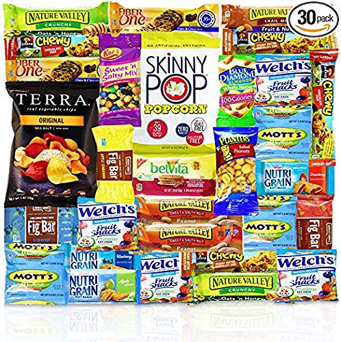Healthy Snacks Care Package (Count 30) - Discover a whole new world of Healthy Snacks from Blue Ribbon