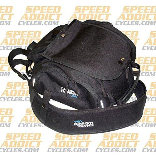 [Chase Harper 6XM Expandable Tank Bag Black One Size CHRAS6XM] (Chase Harper Motorcycle)