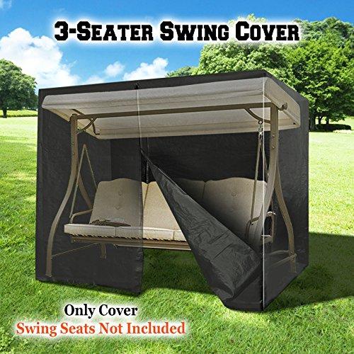 Benefitusa Outdoor Furniture Porch Set 3 Seater Size Swing