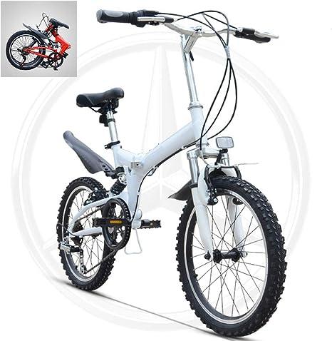 Bicicletas De Montaña Plegables De 20 Pulgadas,Marco De Acero De ...