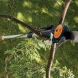 Fiskars Chain Drive 7–16 Foot Extendable Pole Saw & Pruner (394631-1001),White