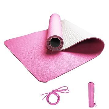 Amazon.com: Yoga Mats Yoga Mat Gymnastics Gymnastics Skid ...