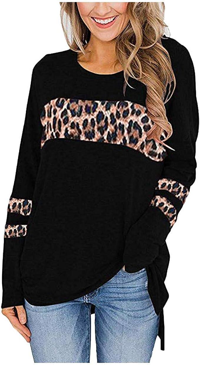 HIRIRI Fashion Womens Hoodies Sweatshirt Color Block Patchwork Ladies Hooded Blouse Pullover