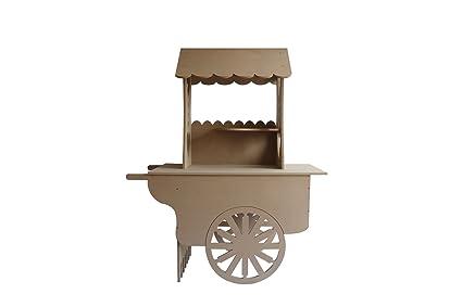 ASVP Shop® Carro carros de Candy boda dulces carrito para bautizo, ideal para celebraciones