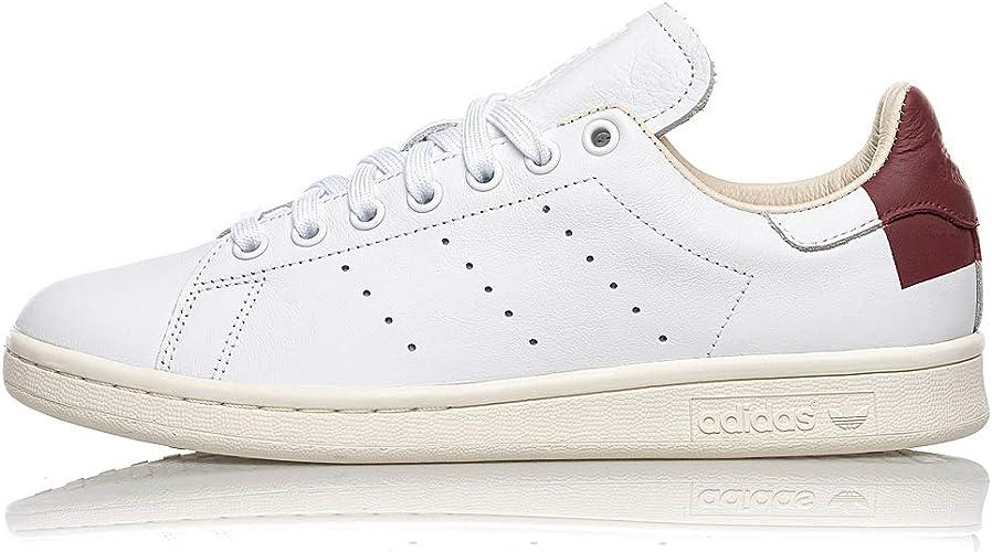 Adidas Stan Smith EE5784 Cloud White Burgundy: Amazon.it