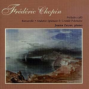 Preludes (24)/Barcarolle/Andante Spianato