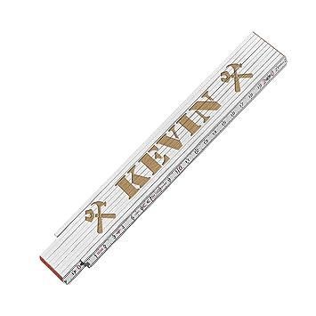 Meterstab Farbig graviert mit Name Zollstock mit Gravur Personalisiert Geschenk