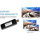 Velidy USB TV Wireless Wi-Fi Adapter,802.11ac 2.4GHz and 5GHz dual-band Wireless Network USB Wifi Adapter for Samsung Smart TV WIS12ABGNX WIS09ABGN 300M