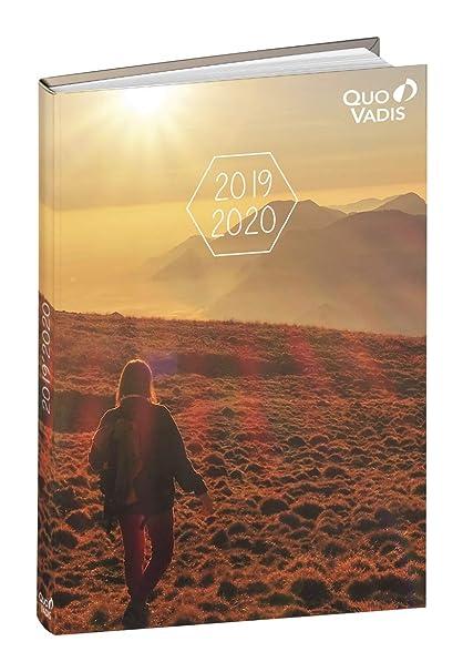 Agenda Escolar 1 Día/Página 2019-2020 Naturaleza, 12x17cm ...