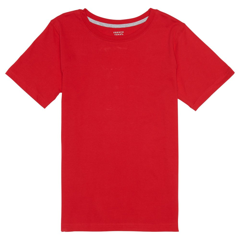 French Toast Boys' Short Sleeve Crewneck Tee LA9497