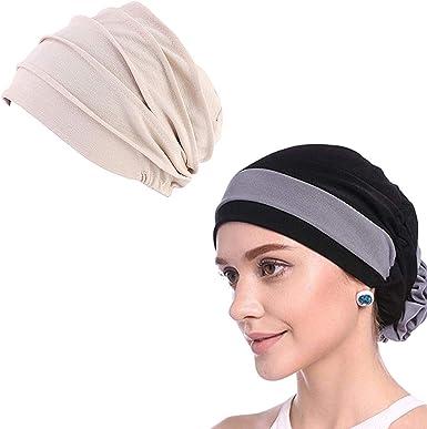 WETOO Damen Blume Turbante musulmán Chemo Krebs Gorra Kopftuch Kopfbedeckung: Amazon.es: Ropa y accesorios