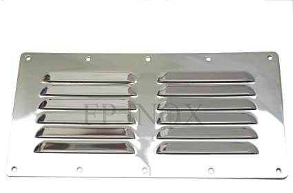 Rejilla de acero inoxidable 230 mm x 115 mm acero inoxidable ...