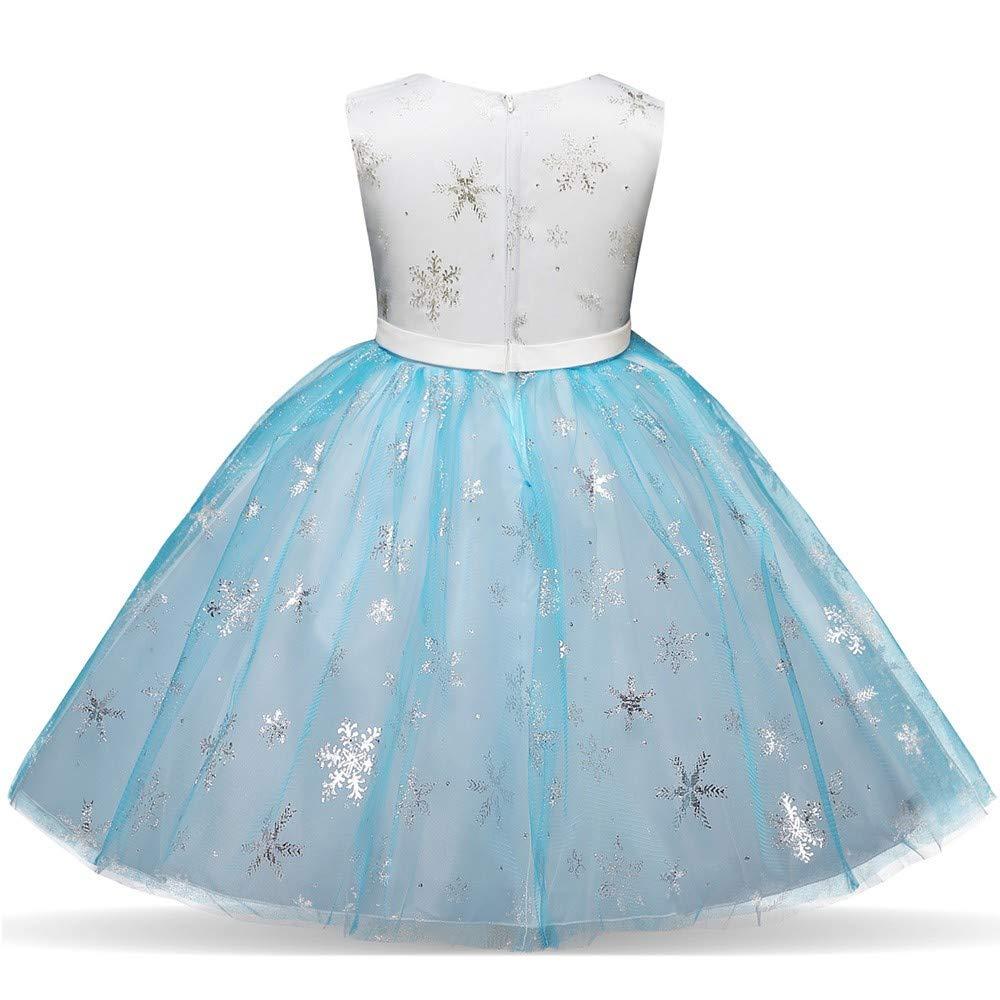 038249819351 YanHoo Vestiti del Vestito dal Tutu di Bling della Principessa del Fiocco di  Natale della Ragazza del Bambino dei Bambini