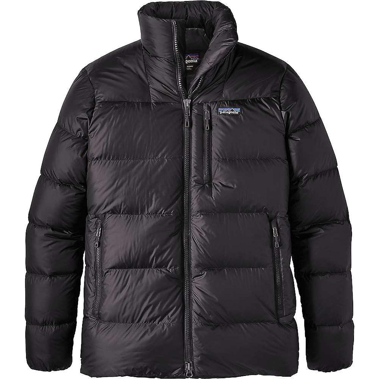 パタゴニア アウター ジャケットブルゾン Patagonia Men's Fitz Roy Down Jacket Black 227 [並行輸入品] B074N2K24S