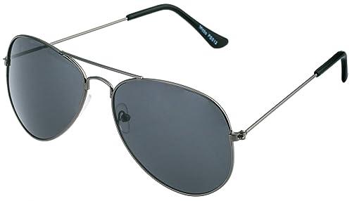 Gafas de piloto, gafas de sol, de vuelo, porno, con bisagra de muelle, no reflejan (transparentes) e...