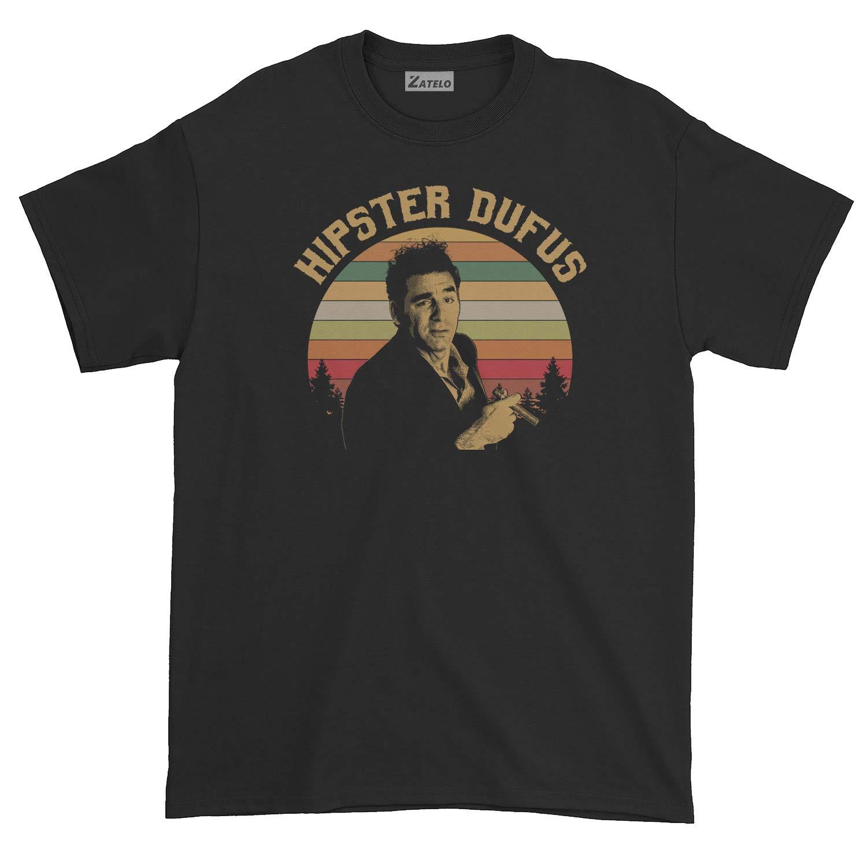 Vintage Retro T-Shirt Hipster Dufus