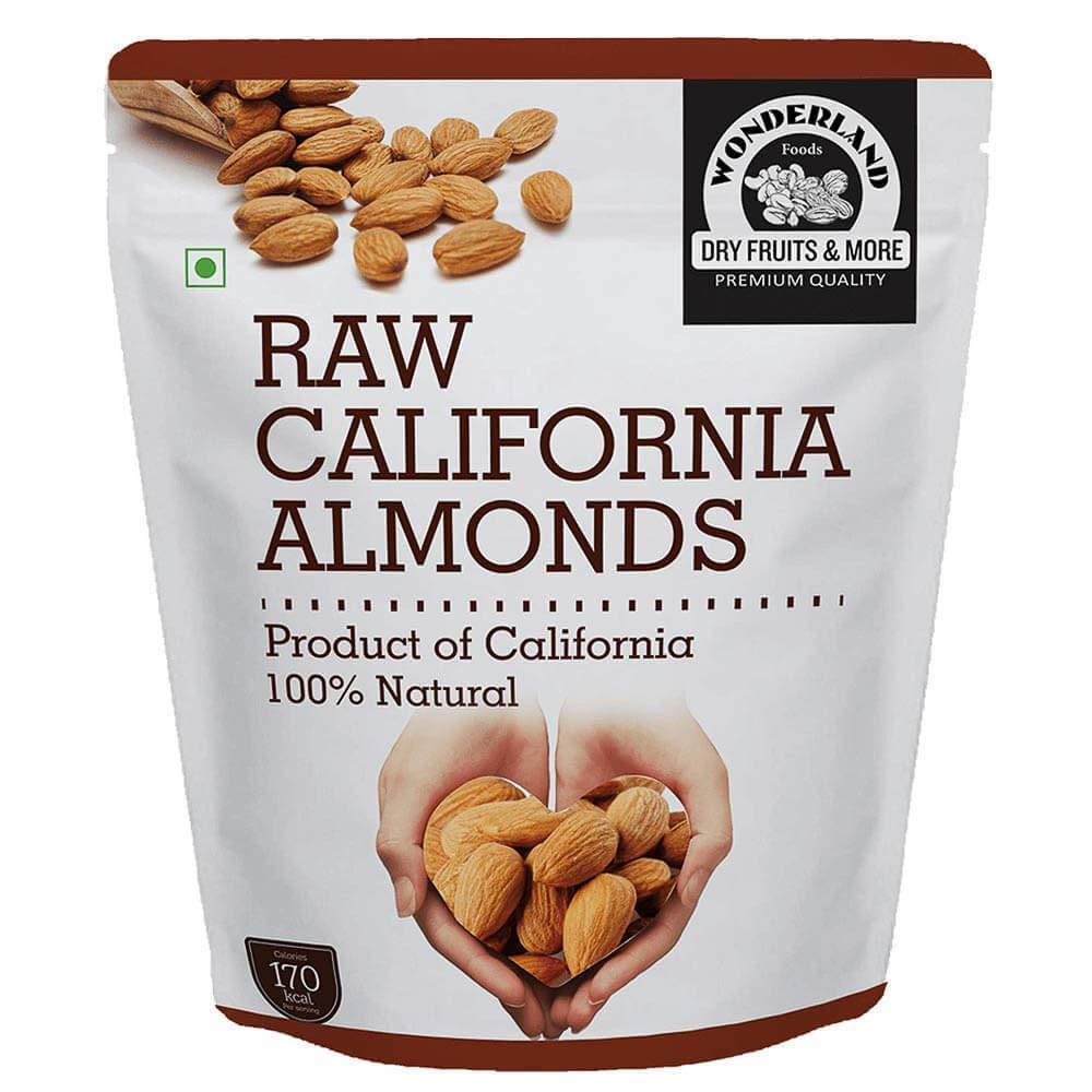 Wonderland Foods California Raw Almonds (1Kg)