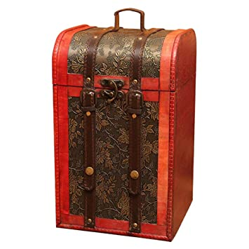 Amazon.com: Vosarea - Portavelas de madera con asa (4 ...