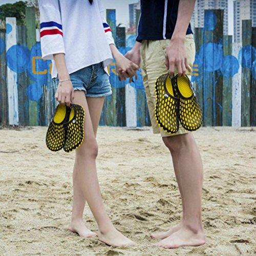 rapida Slipper asciugatura per Beach scarpe Bescita unisex Yellow sandali traspirante PtdTPqw