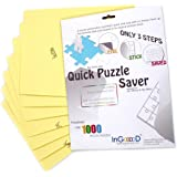 Puzzle Glue Sheets For 1000 Pieces Amazon Co Uk Toys Amp Games