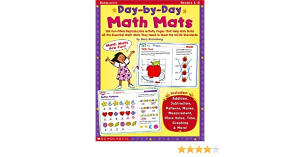 Amazon.com: Day-By-Day Math Mats: Mary Rosenberg: Books