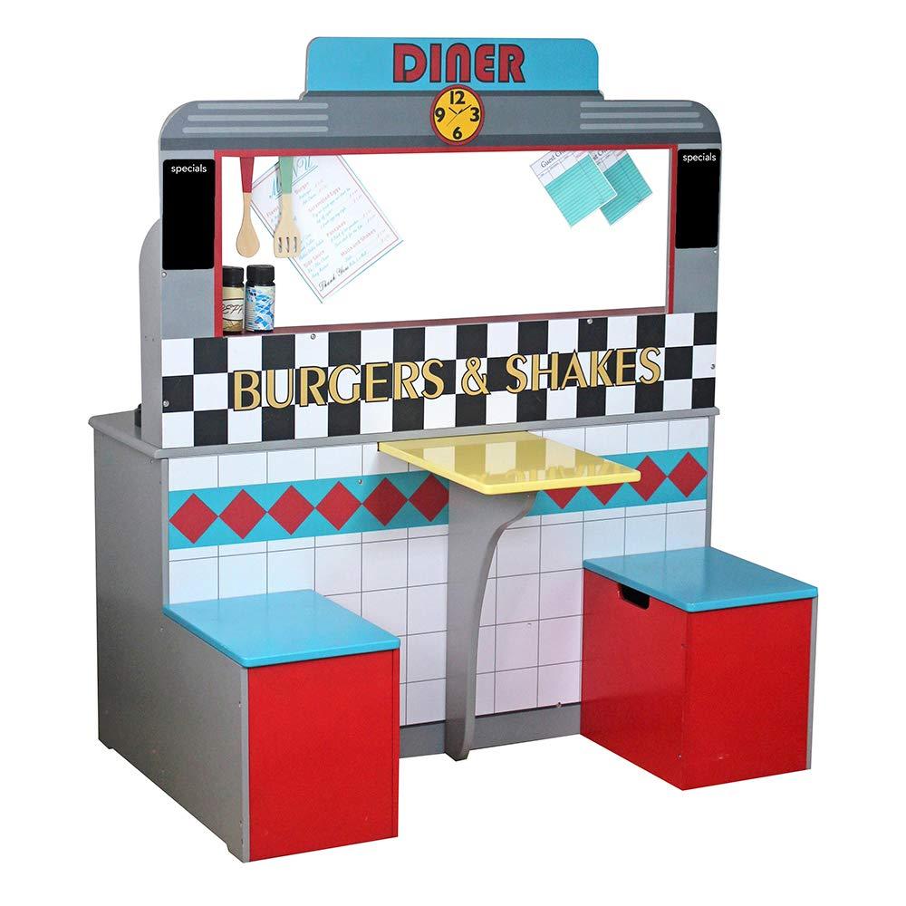 ColorBaby - Cocina madera 90 x 58 x 104 cm - Retro (85287): Amazon.es: Juguetes y juegos