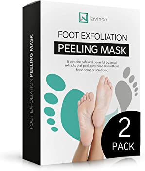 2-Pack LV Lavinso Foot Exfoliating Peeling Mask