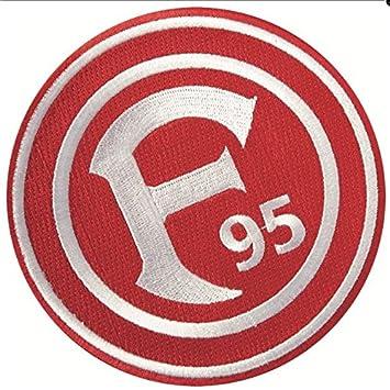 Fortuna Dusseldorf Aufnaher Logo Klein