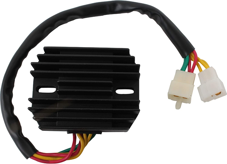 DB Electrical AHA6018 New Voltage Regulator For Honda Vfr700 Vfr700F Vfr800 Vfr800F Interceptor 1998-2001 Tl1000 Tl1000R 1998-2003,Tl1000S 1997-2001 ESP2308 31600-MBG-305 31600-ML7-008 31600-ML7-660