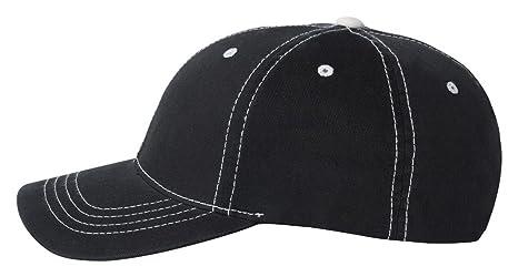 6c0774e55 Premium Original Flexfit Contrasting Stitch Blank Baseball Hat Cap ...