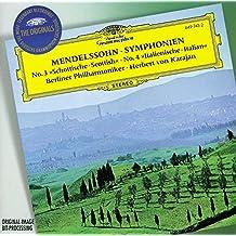 Symphonies 3 & 4 / Hebrides Overture