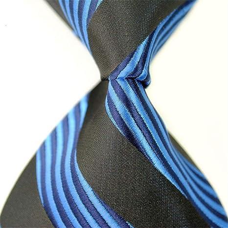 XJIUER corbata Traje de Negocios Corbata para Hombre 8CM Patrón ...