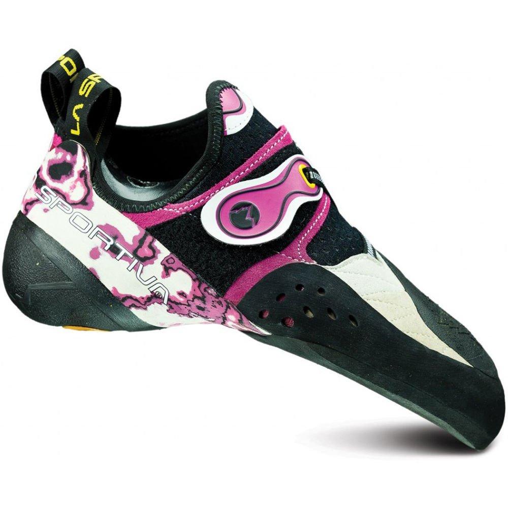 La Sportiva Women's Solution Performance Rock Climbing Shoe, White/Pink, 36 M EU by La Sportiva (Image #1)