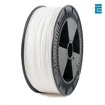 2.30 kg 1.75 mm Wondrous White ICE FILAMENTS ICEFIL1PLA118 PLA Filament