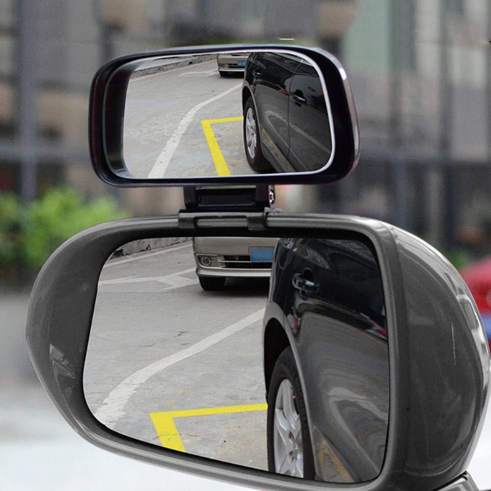 332 Page Ann Morto angolo specchio retrovisore esterno specchio grandangolare per il Blind Spot Vista –  Angolo regolabile –  Facile montaggio bianco 332PageAnn