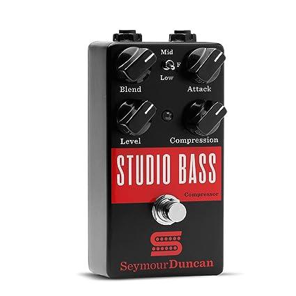 Amazon.com: Seymour Duncan Studio Bass Compressor Pedal Bass ...