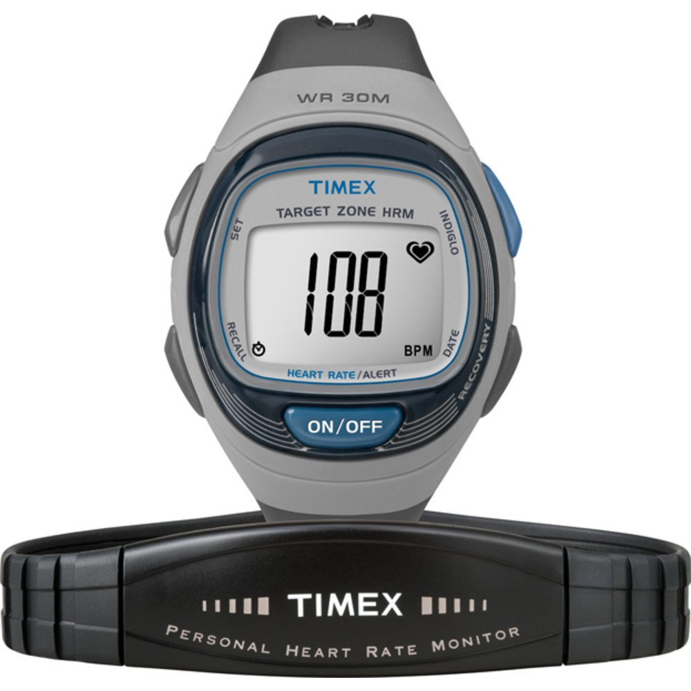 Timex Full-Size T5K541 Personal Trainer Heart Rate Monitor Watch