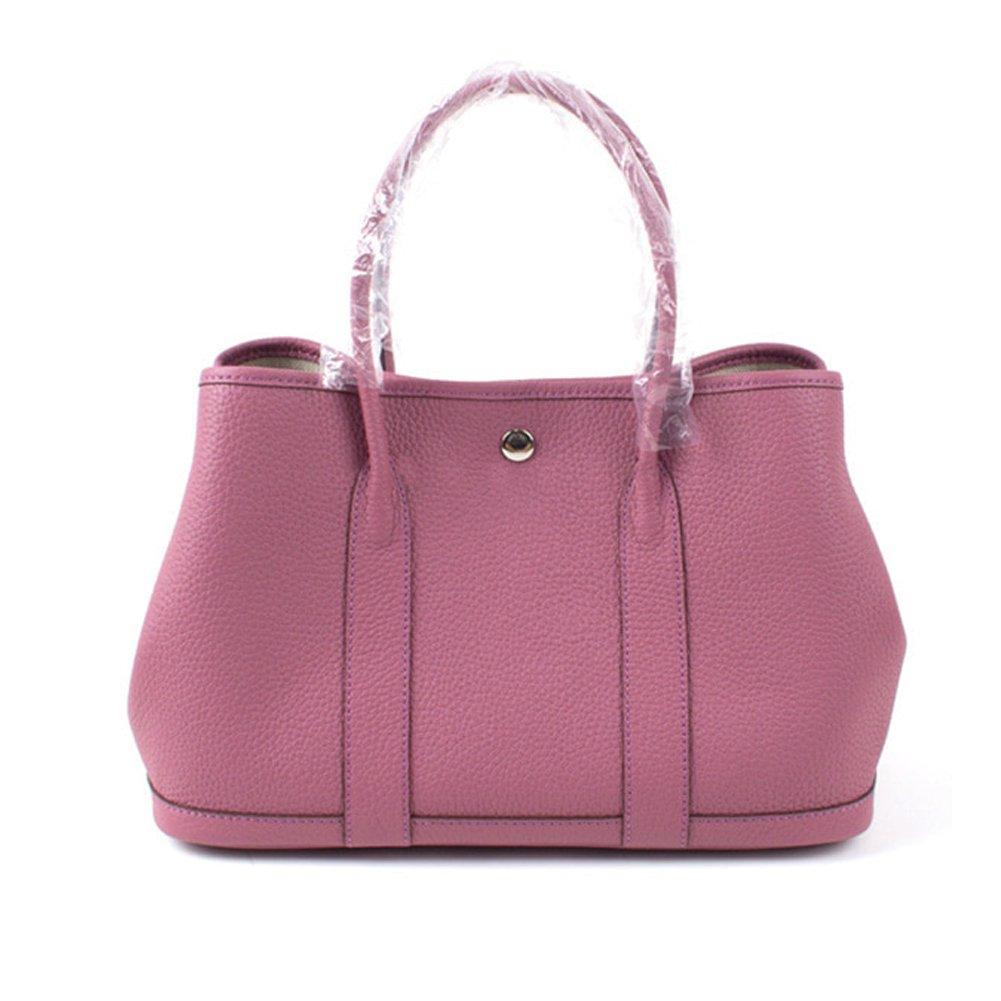 8cc12700b2 LUX GARDEN TOTE BAG (36cm) Genuine Leather Premium Togo Calfskin Womens  Korean Handbag  Handbags  Amazon.com
