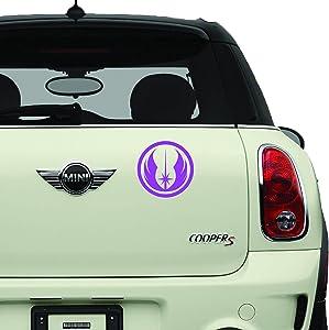 Star Wars Jedi Order Purple SCI-FI/Comics/Games Automotive Decal/Bumper Sticker