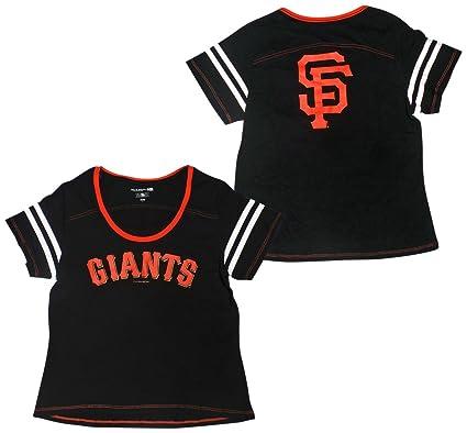 a1d4c14c0 Amazon.com : San Francisco Giants Women's Baby Jersey S/S Scoop Neck ...